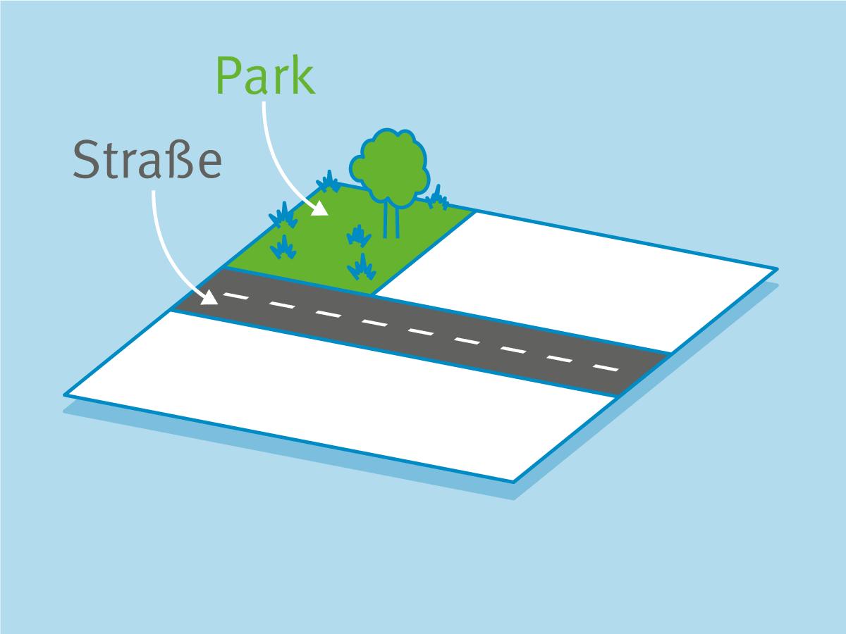 Neue öffentliche Flächen