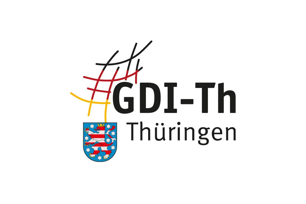 Logo der Geodateninfrastruktur Thüringen GDI-Th