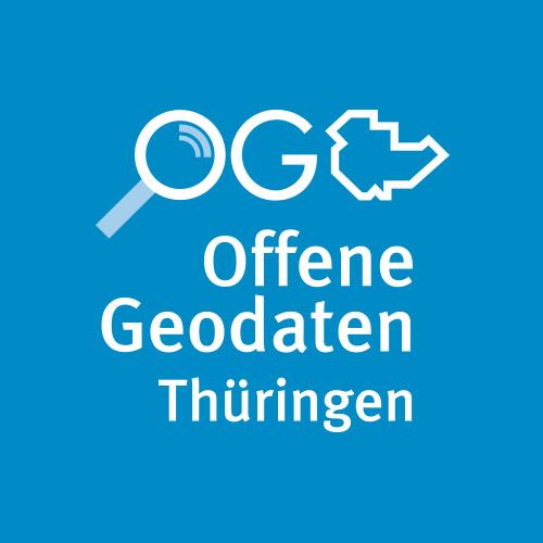 Logo der offenen Geodaten in Thüringen