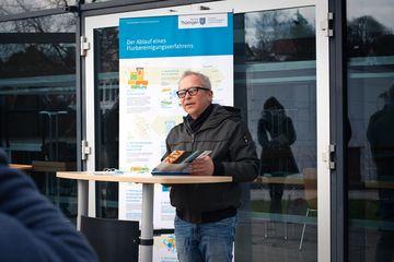 Referatsleiter Andreas Harnischfeger (Flurbereinigungsbereich Meiningen)