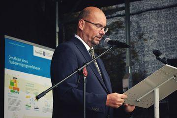 Begrüßung durch den Präsidenten des TLBG, Herrn Uwe Köhler