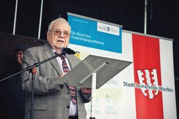 Grußwort des Vorsitzenden der Teilnehmergemeinschaft Kirchohmfeld, Herrn Werner Genzel