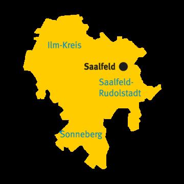 Katasterbereich Saalfeld