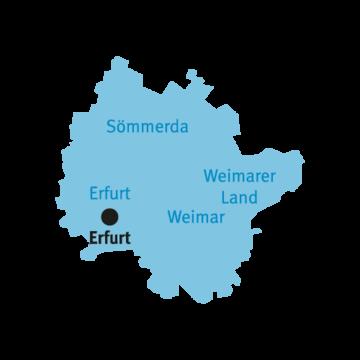 Katasterbereich Erfurt
