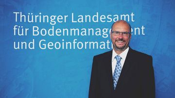 Präsident des TLBG: Uwe Köhler