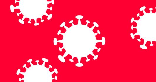 Symboldarstellung Corona-Virus