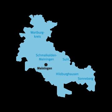 Flurbereinigungsbereich Meiningen