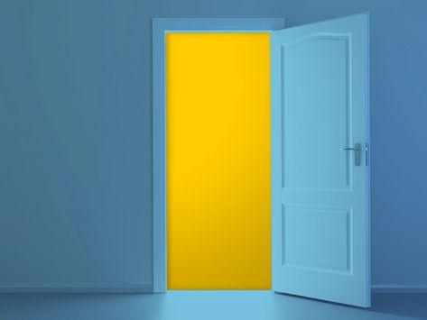 Symbolbild einer offenen Tür