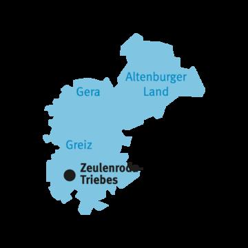 Katasterbereich Zeulenroda-Triebes