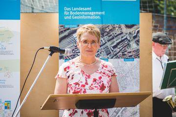 Referatsbereichsleiterin Karin Löffler (TBLG)