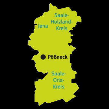 Katasterbereich Pößneck