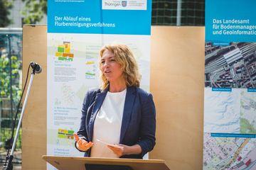 Staatssekretärin Susanna Karawanskij (TMIL)