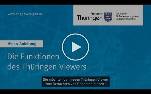 Screenshot aus dem Video zu den Funktionen des Thüringen Viewers